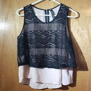 Duel layered top